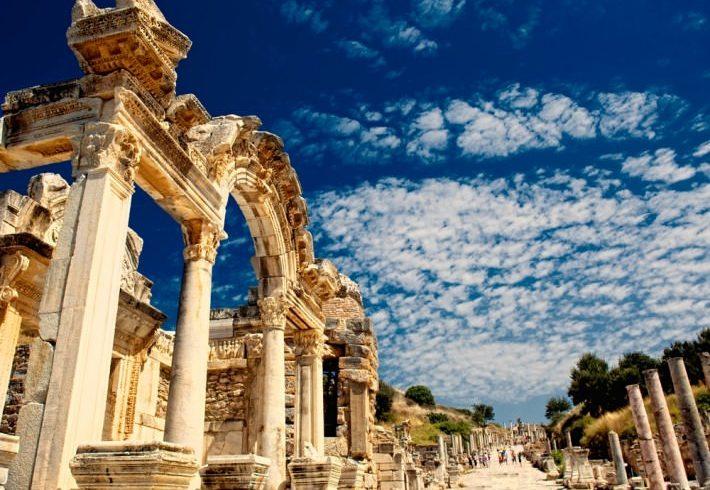 Ephesus-in-Izmir-Turkey
